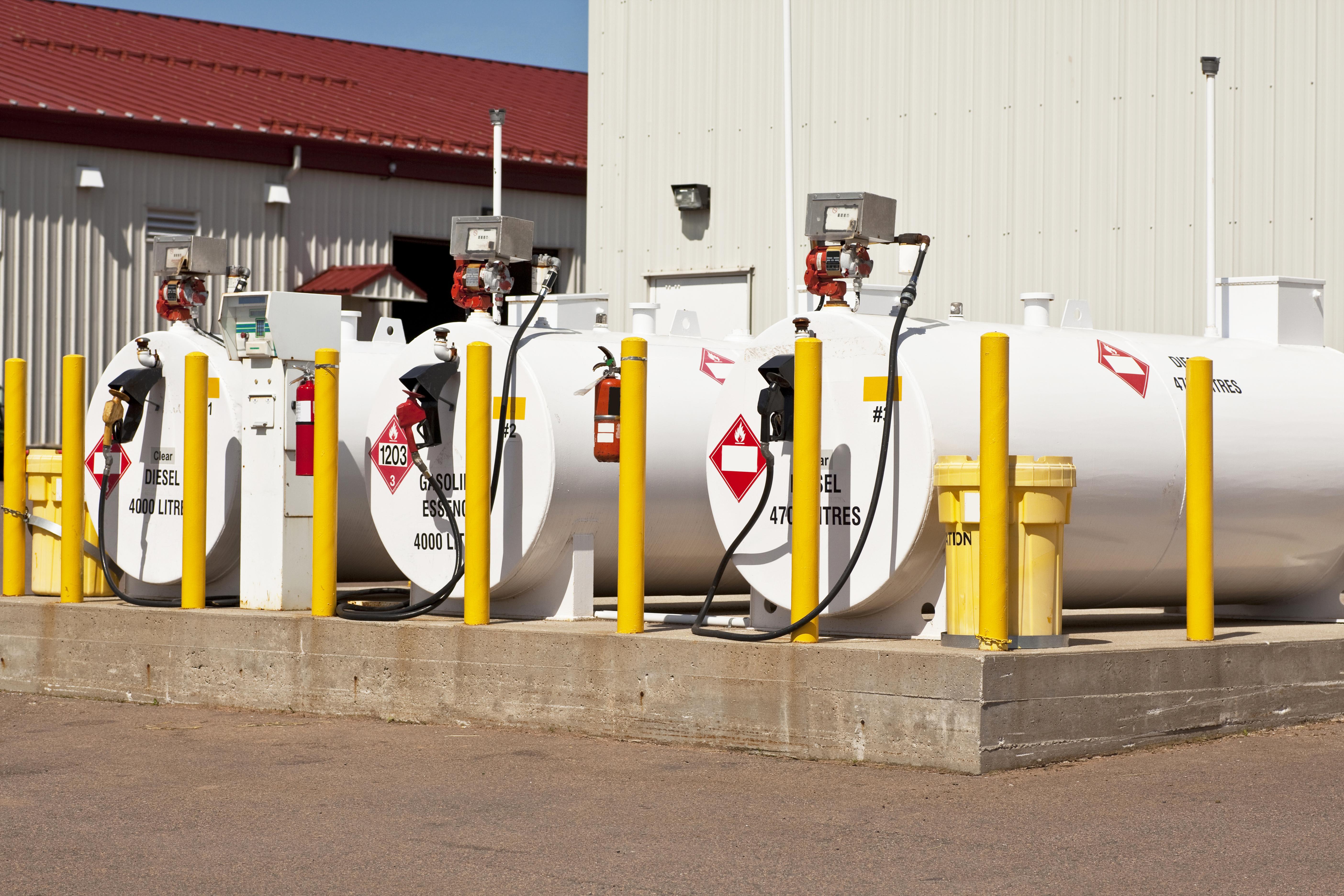 Gasoline Tanks